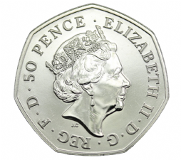 BUNC Decimal 50p Pence Choice of Year 1971 to 2016 for sale